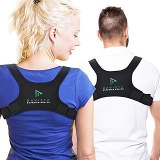 Ravista Posture Corrector Back Brace Para Mujeres Y Hombres