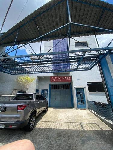 Galpão Para Alugar, 250 M² Por R$ 5.500,00/mês - Jardim Aida - Guarulhos/sp - Ga0163