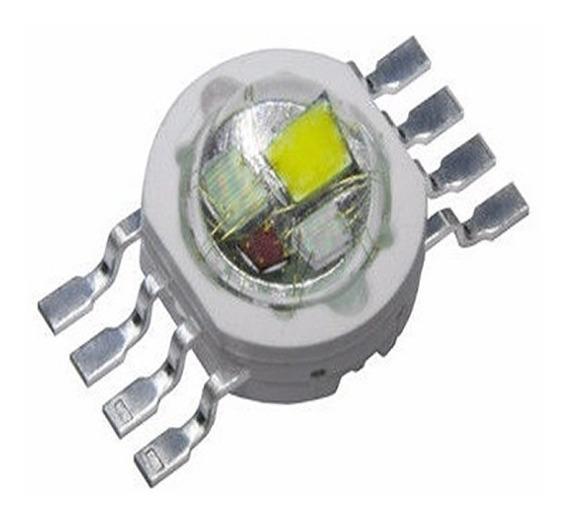 10 Chip Super Power Led 12w Rgbw (4*3w) Diodo 8 Pinos Diy