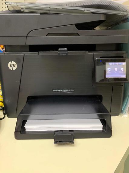 Impressora Hp Laserjet Pro Mfp M177fw