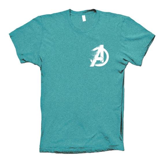 Avengers Endgame Playera Fade Logo Para Hombre Mujer Y Niños
