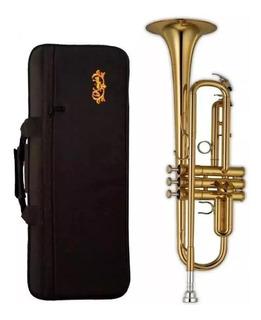Trompeta Excelente Calidad Con Estuche Knight Jbtr-300