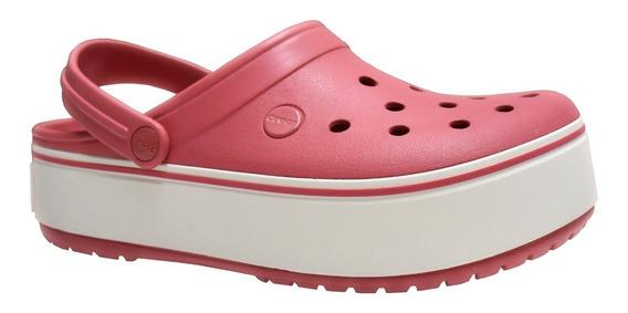 Crocs Crocband Plataforma Clog Dama Rc Deportes