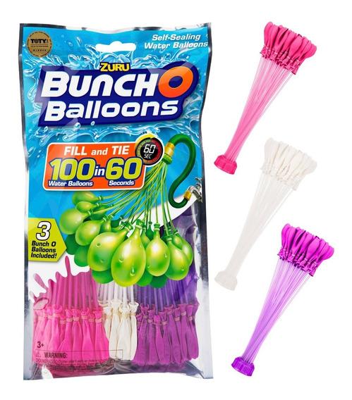 Globos Autollenables De Agua En Pack X 100 Bunch Ballons