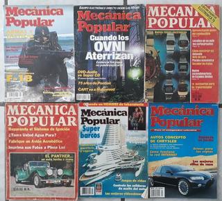 6 Revistas Mecanica Popular Años 1975. 1976. 1989. 1995.2001