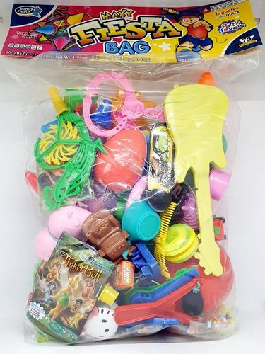 Imagen 1 de 2 de Bondy Maxy Fiesta Bag 75 Piezas Piñatero Con Juguete Bolo Ag