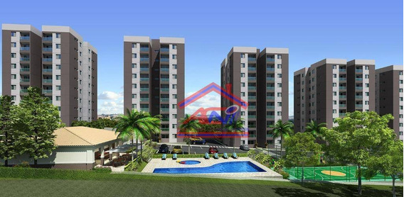 Apartamento Com 2 Dormitórios À Venda, 58 M² Por R$ 210.000 - Vila São Pedro - Hortolândia/sp - Ap0034