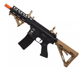 Rifle De Airsoft Elétrico Duel Code M4 San Diego Full Metal
