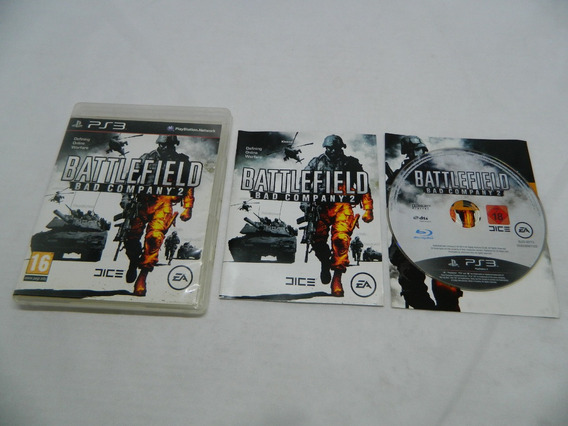 Battlefield Bad Company 2 - Ps3 Mídia Física - Completa