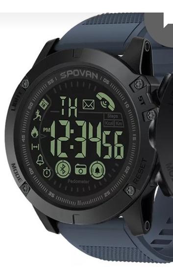 Relógio Spovan Monitor Pedômetro Rastreador Fitness