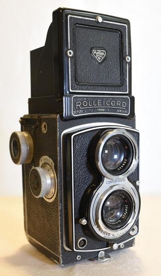 Câmera Tlr Antiga Vintage Rolleicord Iii K3b Xenar