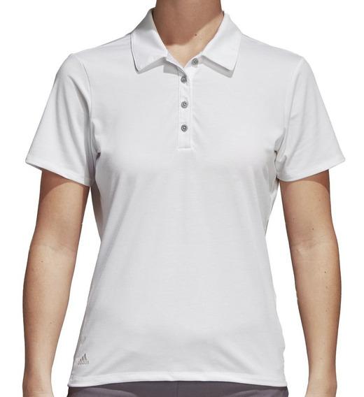 Playera Polo Cotton Hand Mujer adidas Af2783