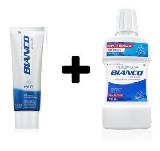 Creme Dental Bianco Repair 100gr + Enxaguante Bucal 500ml
