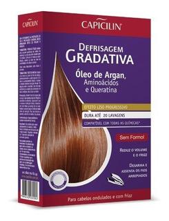 Kit Defrisagem Gradativa Capicilin Óleo De Argan