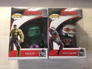 Funko Pop. Imitación Marvel. Advengers. Ant-man . Hulk.