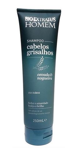 Bio Extratus Linha Masculina Shampoo Cabelos Grisalhos 250ml