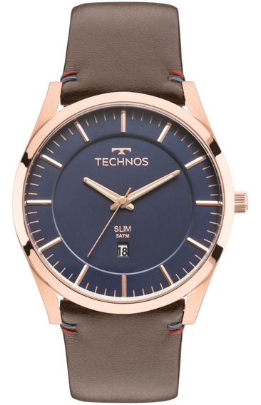 Relógio Technos Masculino Slim Gm10yh/2a