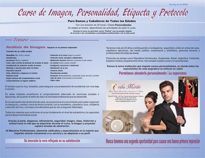 Cursos De Personalidad Imagen Protocolo Glamour Exito