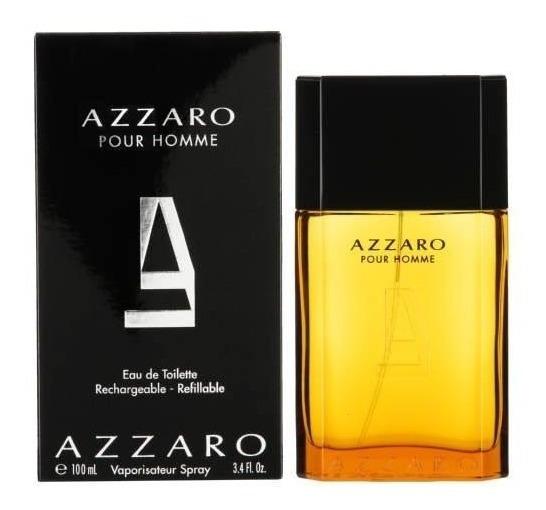 Azzaro Pour Homme Masculino Edt 100ml Importado Original