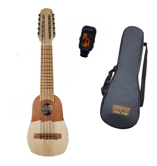 Charango Madera Pino Nr2 Artesanal Luthier Coro Funda Cuotas