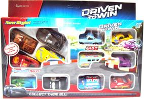 12 Carrinhos Infantil Coleção Carros 3 Relâmpago Mc Queen