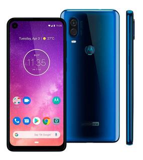 Smartphone Motorola One Vision 128gb 4gb Ram Tela De 6.3