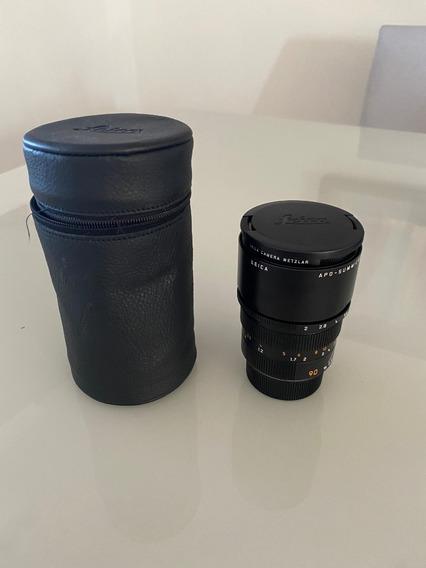 Lente Leica Summicron M 90mm F/2 Asph