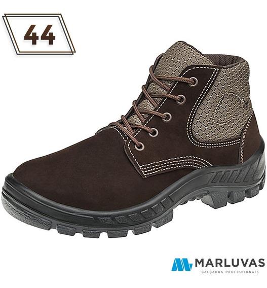 Botina Nubuck Marrom Trekking 50b26 N44 Marluvas