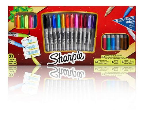 Set De Marcadores Sharpie Edición Especial 23 Piezas