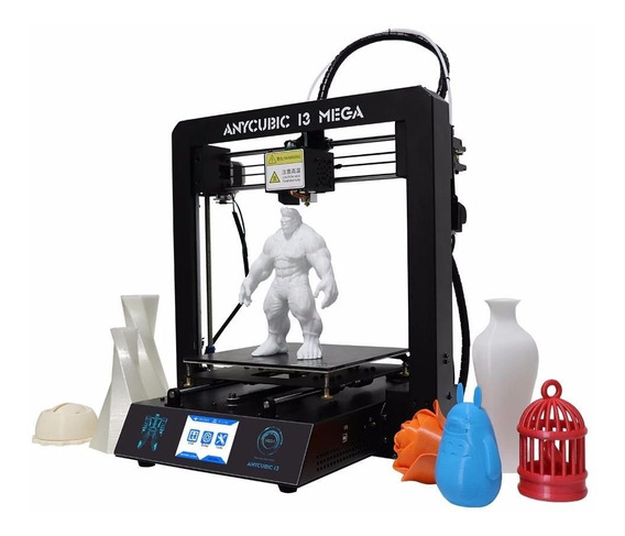 Impressora 3d Anycubic I3 Mega Tft Touch Screen Printer 3d