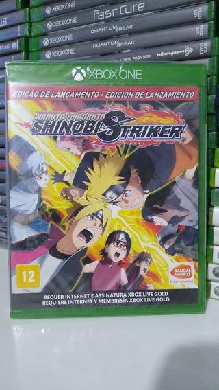 Naruto To Boruto Shinobi Striker Mídia Física Xbox One Novo