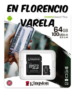 Memoria Micro Sd 64gb Canvas Select Plus 100mb/s Clase 10