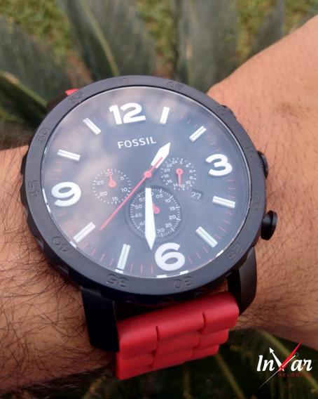 Relógio Fossil Fjr1422z Vermelho