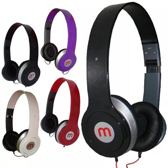 Kit 14 - Fone M De Ouvido Potente Headphone Mex Promoção