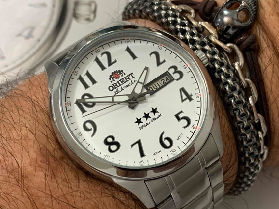 Orient 3 Star 469ss074 Automatic Wr50m