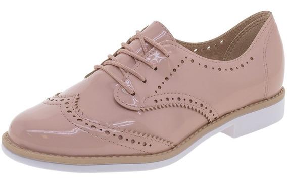Sapato Feminino Oxford Beira Rio - 4170102 Rosa