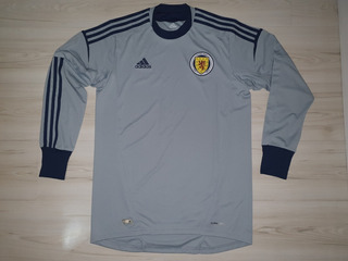Linda Camisa De Goleiro Da Seleção Da Escócia 2011 adidas M
