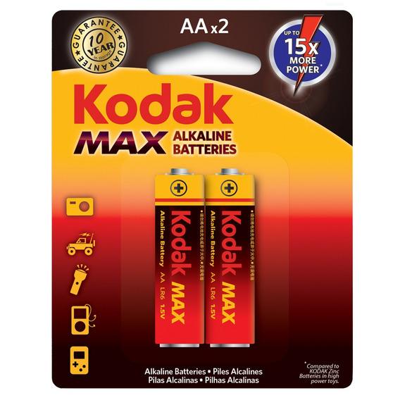 Pilha Aa Alcalina Max C/2 30536630 Kodak Infotel