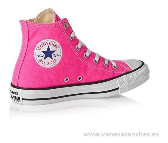 Zapatilla Converse All Star Seasonal Pink Oferta!! 139316