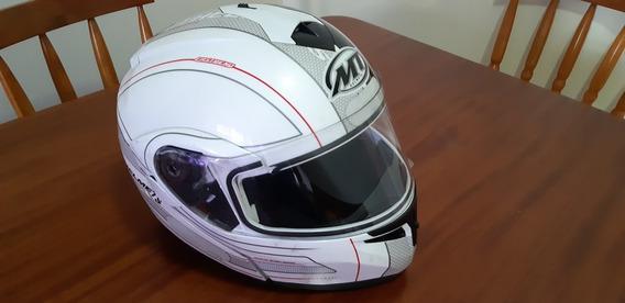 Capacete Mt Helmets Escamoteável Xl61-62