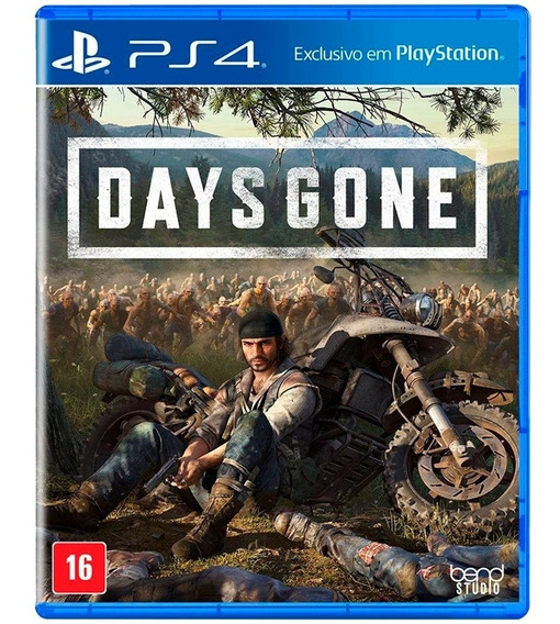 Days Gone - Ps4 ( Novo, Lacrado, Mídia Física)