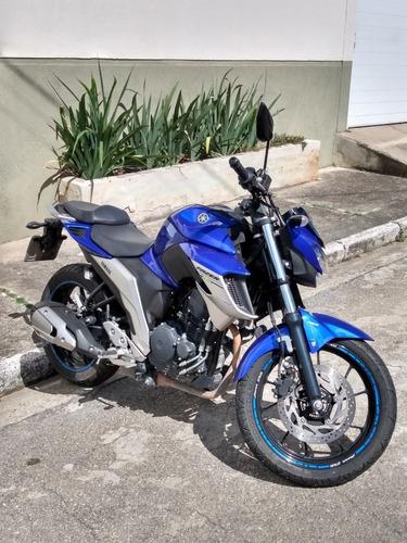 Yamaha Fazer 250 Abs 18/19, 14.750km,  C/ Garantia De 1 Ano