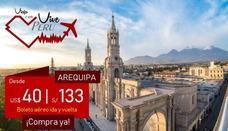 Pasaje Aéreo Ida Y Vuelta Cusco Desde $55, Arequipa $40