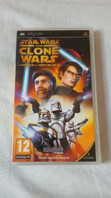 Star Wars The Clone Wars Republic Heroes Psp Original