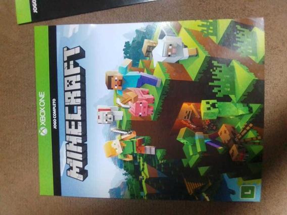 Minecraft Para Xbox One. Código De 25 Dígitos