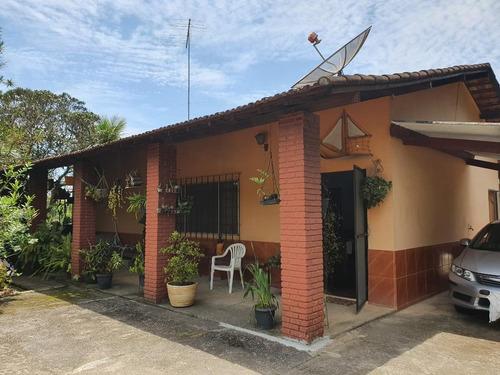 Chácara Com 3 Dormitórios À Venda, 1400 M² Por R$ 670.000 - Vista Alegre - Arujá/sp - Ch0083