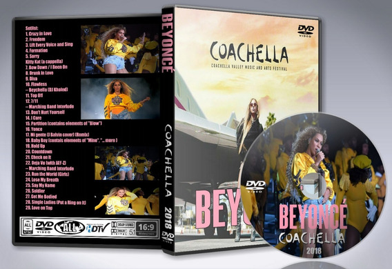 Dvd Beyonce - At Live From Coachella 2018