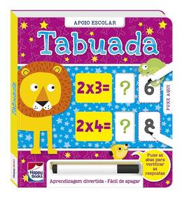 Livro Infantil - Responda E Confira - Tabuada - Happy Books