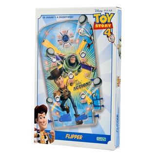 Juego De Mesa Flipper Grande Toy Story 4 Original Ditoys