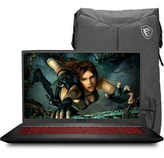 Laptop Gamer Msi Gf75 Thin I5 8gb 1tb 128gb 17.3 Gtx 1650